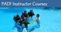 PADI Instructor Courses