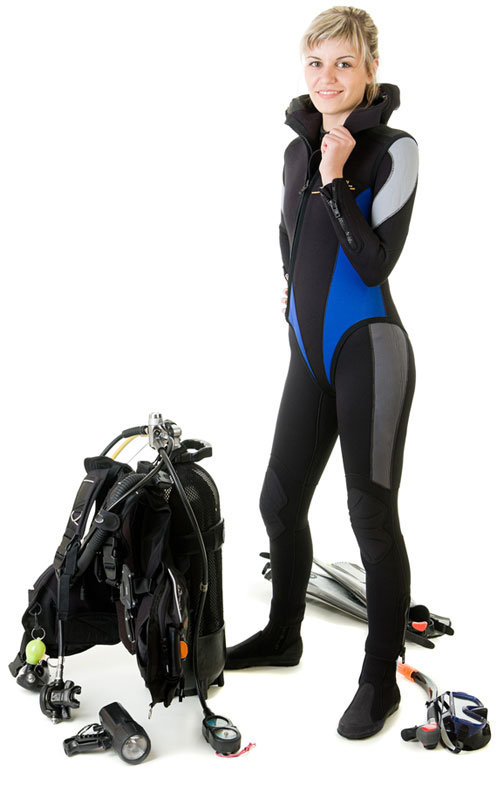 Professional Scuba Diving Gear