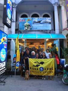 Scuba Cat Diving PADI 5 * CDC Phuket Thailand Internships